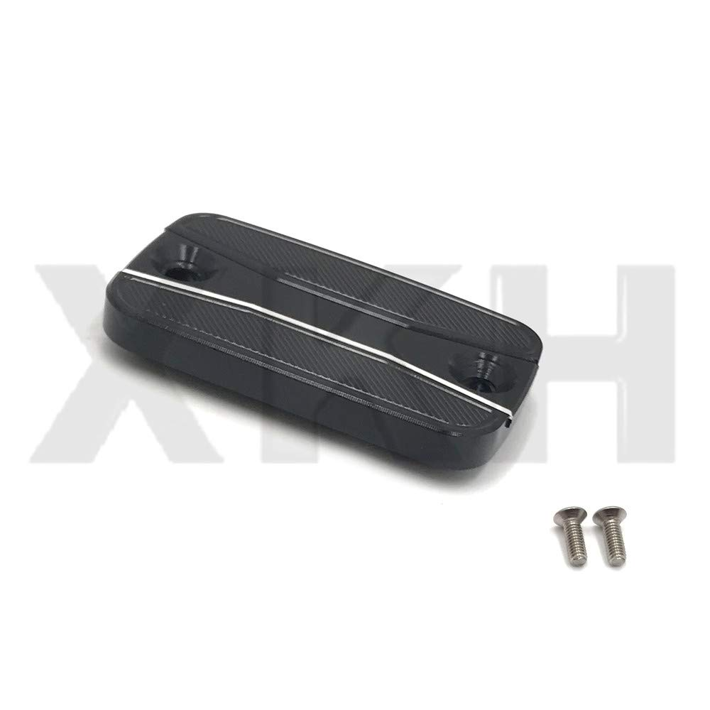 B07MCW1P89 CNC Front Brake Fluid Reservoir Cover Cap Compatible With YAMAHA YZF-R3//YZF-R25 2015-2018 SMT