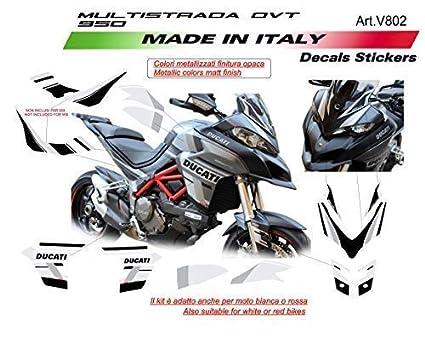 Vulturbike Stickers Kit For Ducati Multistrada Dvt 950