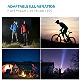 Anker-Bolder-LC90-LED-Flashlight-IP65-Water-Resistant-Zoomable-Rechargeable-Pocket-Sized-Torch-for-Camping-and-Hiking-with-Super-Bright-900-Lumens-CREE-LED-5-Light-Modes-18650-Battery-Included