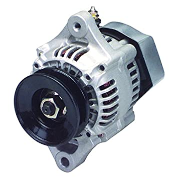new mini alternator 1 wire install with volt set only 5 5 pounds 35 amp 100211 1660 1002111660  chevy mini denso street rod race 1 wire