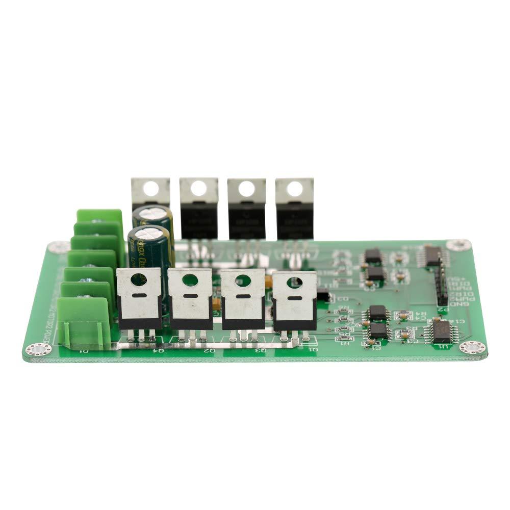 Docooler Module de carte de commande de moteur /à double moteur 3V-36V Pont en H MOSFET CC IRF3205 10A Peak 30