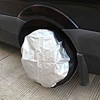 Spare Tyre Dust Bag 4 pezzi KKmoon Universal Tyre Carrier Bag for 13-19 Inch Wheels
