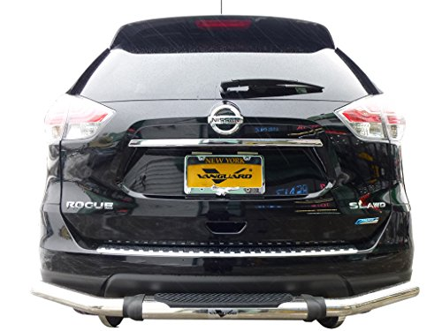 VANGUARD VGRBG-1030SS 2014-2017 Nissan Rogue,Rear Bumper Guard Single Tube Pintle S/S