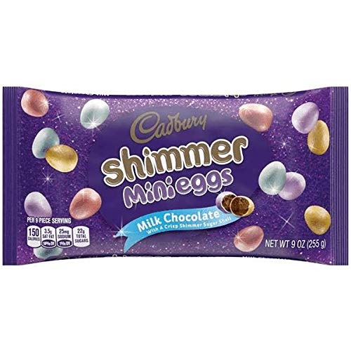 Cadbury Shimmer Mini Eggs, 9 oz