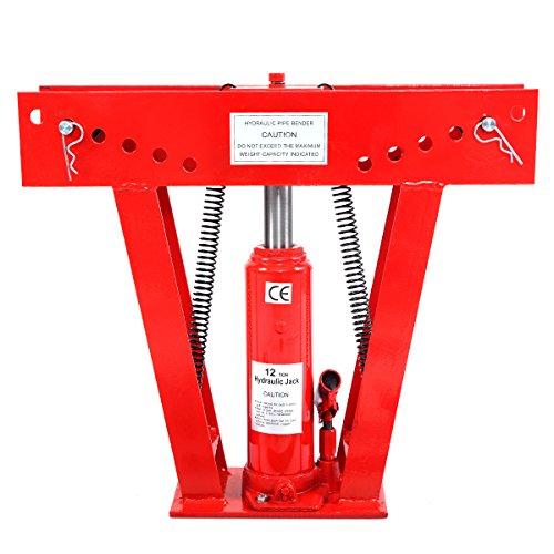 Rohrbiegemaschine Rohrbiegegerät 12t Biegemaschine Rohrbieger Hydraulisch 180 Grad bis 2