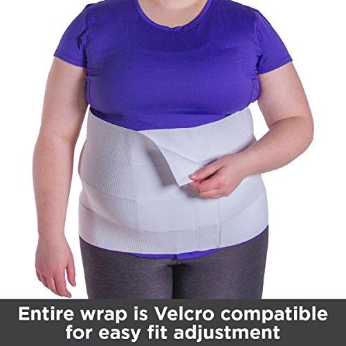 Braceability Ultra Plus Size Abdominal Tummy Wrap