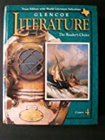 Glencoe Literature Course 4 Texas Edition 2000 (The Reader's Choice) (The Reader's Choice) 0028179374 Book Cover