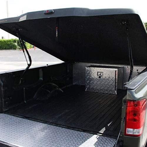 24 Aluminum Truck Tool Box Trailer Truck Pickup Underbody Underbed Tool Box Toolbox Storage w//Lock