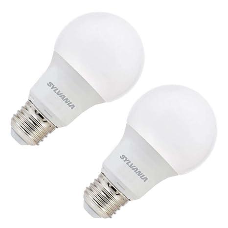 Sylvania 73886 – led8.5 a19 F82710yvrp2dis una línea pera bombilla LED