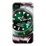 For Iphone Cases, High Quality Rolex Green Submariner Watch Brand For Iphone 6 Covers Cases