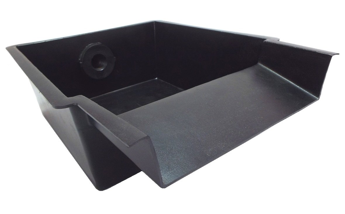 NELSON'S 9.5 INCH POND AND WATERFALL SPILLWAY - Great for Waterfalls, Pondless Water Features and Streams, Low Profile, Easy Installation for a Natural Look