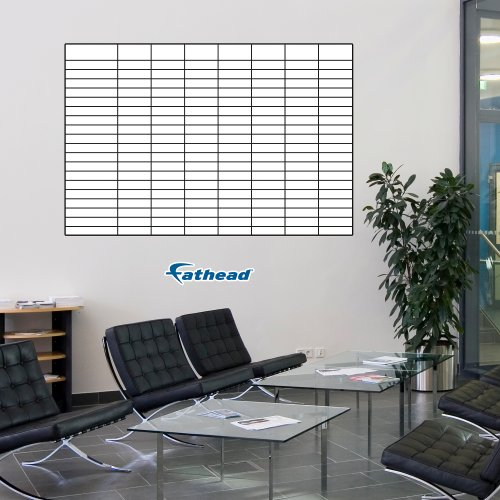 FATHEAD Wall Decal, Sales Goal Tracking Whiteboard by FATHEAD (Image #1)