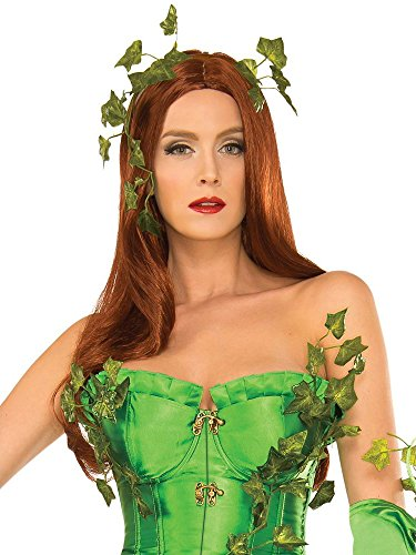 Secret Wishes Women's DC Comics Poison Ivy Wig, Multi, One Size]()