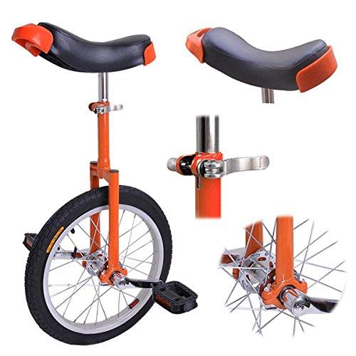 Orange 16in Wheel Unicycle