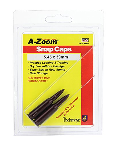 A-Zoom Rifle Metal Snap Caps for 5.45 x 39R (2-Pack)
