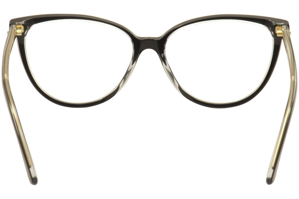 97da257751df Amazon.com  Christian Dior Eyeglasses Montaigne No.33 TKX Black Gold  Optical Frame 54mm  Health   Personal Care