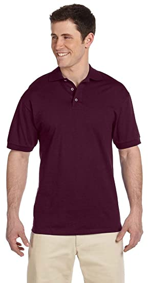 f0f4b2acc24 Image Unavailable. Image not available for. Color: Jerzees 6.1 oz. Heavyweight  Cotton Jersey Polo ...