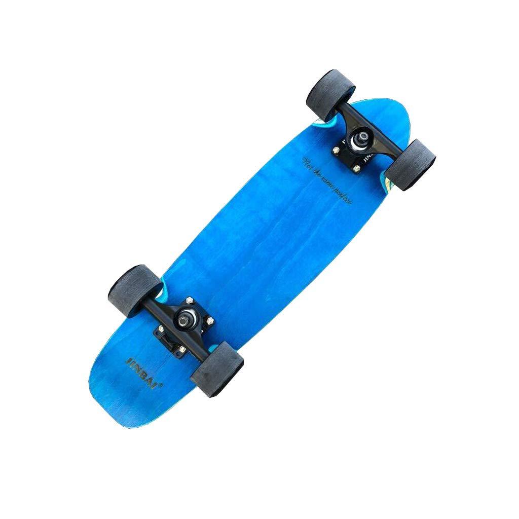 独特の上品 ZX クルーズボード メープル 大きな魚のプレート アダルト アダルト ブラシストリート Blue 4ラウンド スケートボード 小さな魚のプレート 旅行 ハイウェイボード クルーズボード 男性と女性のスケートボード (色 : Red whale) B07H22KM8Q Blue whale Blue whale, ATYES Shop:5f5d22f6 --- a0267596.xsph.ru
