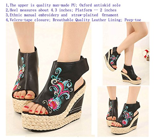 Black Women's Style Fashion Boots UpSun 2 Bootie Summer Ethnic Fw6nx8fqg