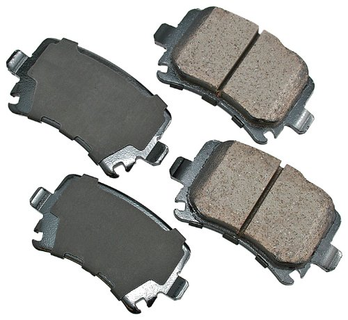 (Akebono EUR1348 EURO Ultra-Premium Ceramic Brake Pad Set)