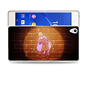 Case88 Designs No Game No Life Sora Shiro Jibril Izuna Hatsuse Stephanie Dola Kurami Zell Protective Snap-on Hard Back Case Cover for Sony Xperia Z3
