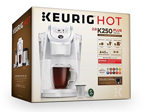 K Cup Coffee Maker White : Keurig K250 Single Serve, Programmable K-Cup Pod Coffee Maker, White-ExcLife