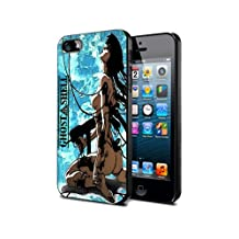 Ghost in the shell Cartoon Manga Game Gio7 Case Cover Protection for iPhone 5c Black Silicone