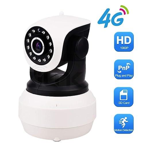 HD 1080P 3G 4G Tarjeta Sim Cámara IP Cámara De Video Ptz Pan ...