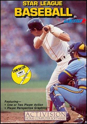 Star League Baseball - Commodore 64