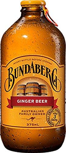 BUNDABERG, GINGER BEER, 4PK, Pack of 6, Size 4/375 ML - No Artificial Ingredients Dairy Free Vegan
