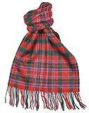 Lambswool Scottish Macalister Modern Tartan Clan Scarf Gift