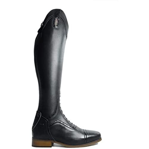 4f9c3fc3cba Brogini Sanremo Field Short Long Riding Boots UK 9.5 Black: Amazon.co.uk:  Shoes & Bags