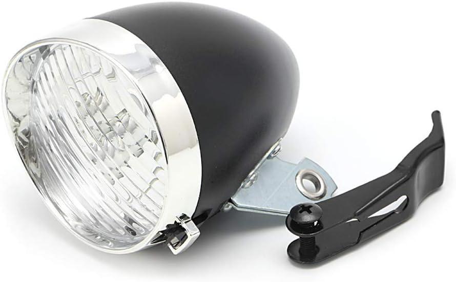 SIQIMI Phare Avant 3 LED Vintage pour v/élo