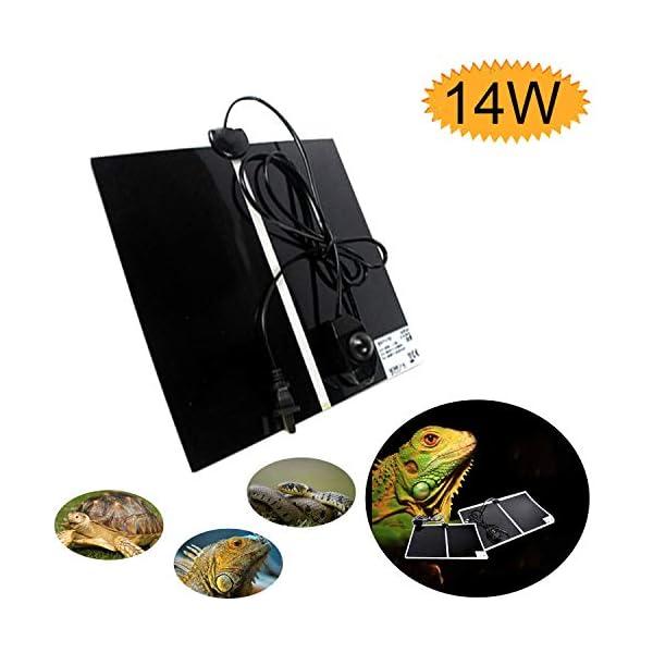 ATian Reptile Heating Pad, Reptile Tank Warmer with Temperature Controller Pet Heat Mats 1