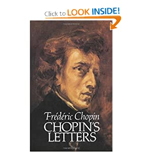 Chopin's Letters (Dover Books on Music) Frederic Chopin and E. L. Voynich