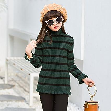 MV Children Sweater Women Thick Plus Velvet Large Childrens Girls Pullovers Winter