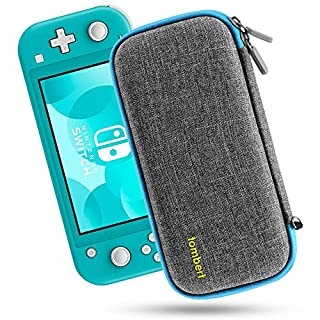 Tombert Carrying Case Compatible with Nintendo Switch Lite - Ultra Slim Hard Shell Protection - Blue