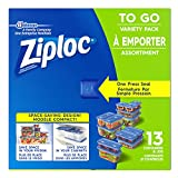 Ziploc To Go Storage Containers, Variety Pack, 13 Count