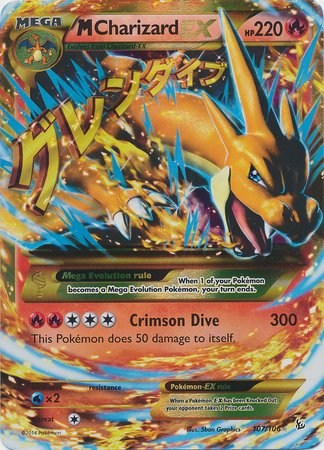Pokemon - Mega-Charizard-EX (107) - XY Flashfire - for sale  Delivered anywhere in USA