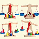 Montessori Children's Balance Scales Balance Games Baby Early Education Toys