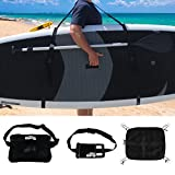 BPS SUP Carry Strap (Triple Pad) w/ Waist Bag, Large SUP Deck Bag and Waterproof Phone Case