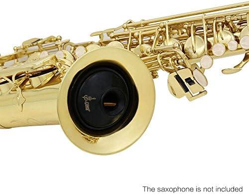 Dünner ABS Mute Schalldämpfer für Alt-Saxophon Sax C5A1
