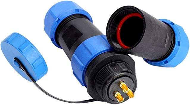 Pièce De Rechange Câble connecteurs 3 broches dense Boulon 1 Câble de connexion
