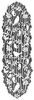 """product image for Heritage Lace Bristol Garden Table Runner, 14""""x36"""", Cafè"""