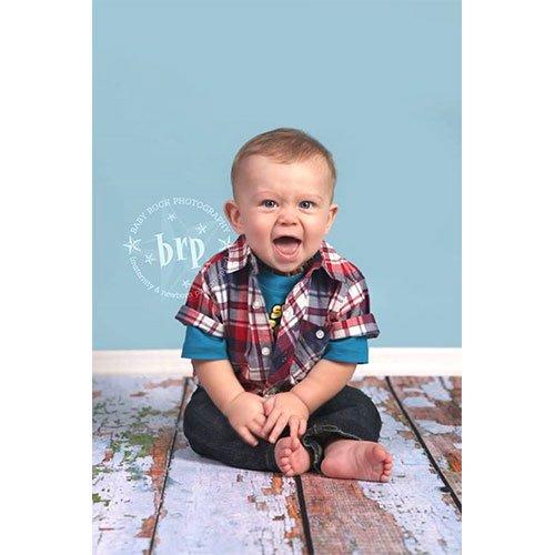 風化Photographyフェイク木製床ドロップ背景マットcf483ゴムBacking、8 ' x8 '高品質印刷、Roll Up for Easyストレージ写真プロップカーペットマット   B00F0HCBAU
