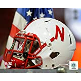 NCAA Nebraska Cornhuskers Football Helmet Photo Size: 12.5 x 15.5 Framed