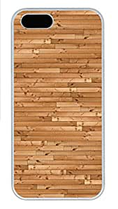iPhone 5s Cases & Covers - Wooden Floor Background Custom PC Soft Case Cover Protector for iPhone 5s - White
