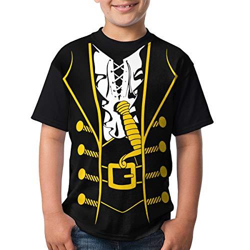 (Novelty Halloween Costume DIY 3D Printing Children's Short-Sleeve Round-Neck T-Shirts)