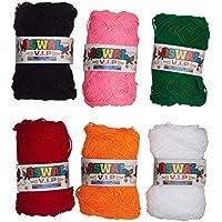 Wool Ball. Hand Knitting Art Craft Soft Fingering Crochet Hook Yarn, Needle Knitting Thread Dyed