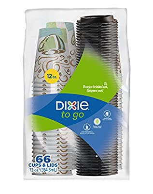 Dixie® To Go 12oz 66 Count Cups & Lids